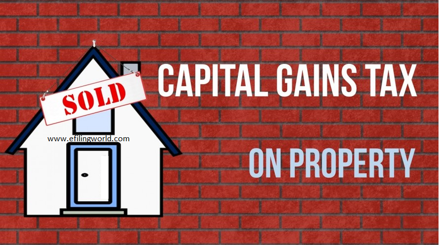 Long Term Capital Gain, Short term capital gain, Capital Gain tax on property